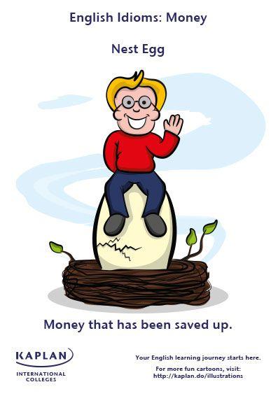 English Idioms: Nest Egg