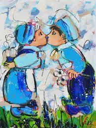 Afbeeldingsresultaat voor Delfts blauw schilderijen