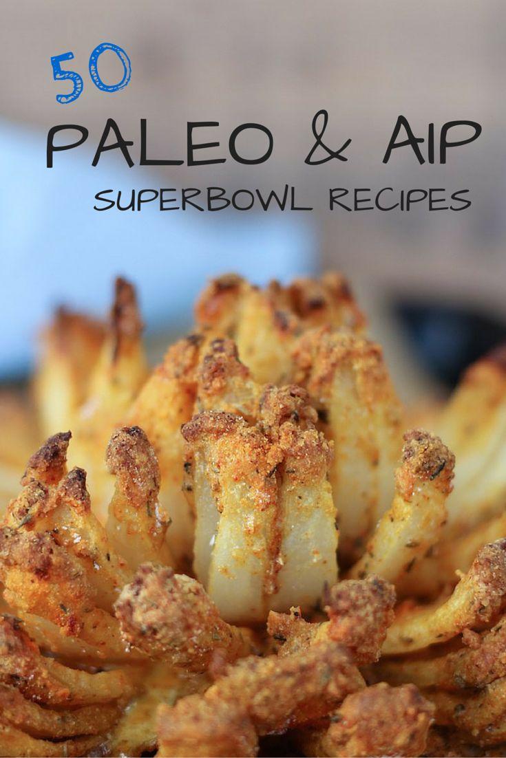 50 Paleo & AIP Superbowl Recipes