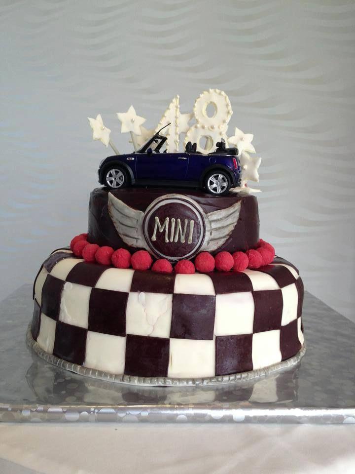 MINI Cooper cake #minicooper #MINI