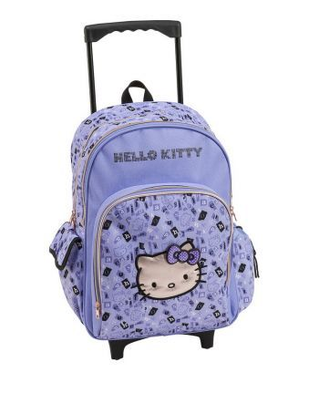 TROLLEY ΣΑΚΙΔΙΟ HELLO KITTY LETTERS ΛΙΛΑ (#242855) | Perfect Toys - Πανταζόπουλος
