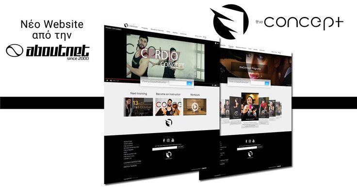 Η #aboutnet δημιούργησε το νέο δυναμικό #website του The Concept ενός συνόλου προγραμμάτων γυμναστικής το οποίο μπορείτε να βρείτε σε γυμναστήρια σε όλη την Ελλάδα. Μπορείτε να το επισκεφθείτε στο www.theconceptfitness.com