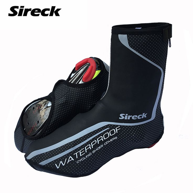 Sireck Men Cycling Sport Shoe Cover Waterproof Winter Thermal Wear MTB Mountain Road Bike Bicycle Shoes Cover Outdoor Overshoes #clothing,#shoes,#jewelry,#women,#men,#hats,#watches,#belts,#fashion,#style