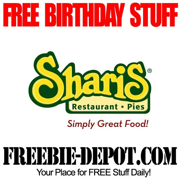 FREE Bday Pie at Shari's