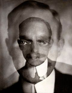 Marius de Zayas by Alvin Langdon Coburn. Hurts my eyes, but I can't stop looking!