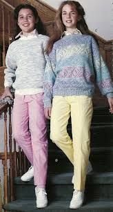 Image result for fashion trends 1981 teens