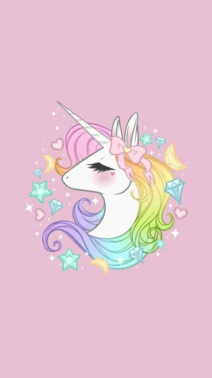 Unicorn | Phone wallpapers in 2019 | Unicorn, Unicorn backgrounds, Pink unicorn wallpaper
