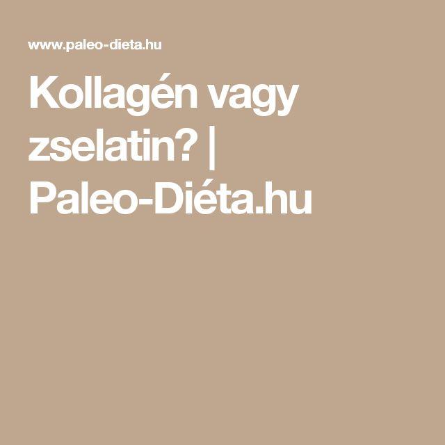 Kollagén vagy zselatin? | Paleo-Diéta.hu