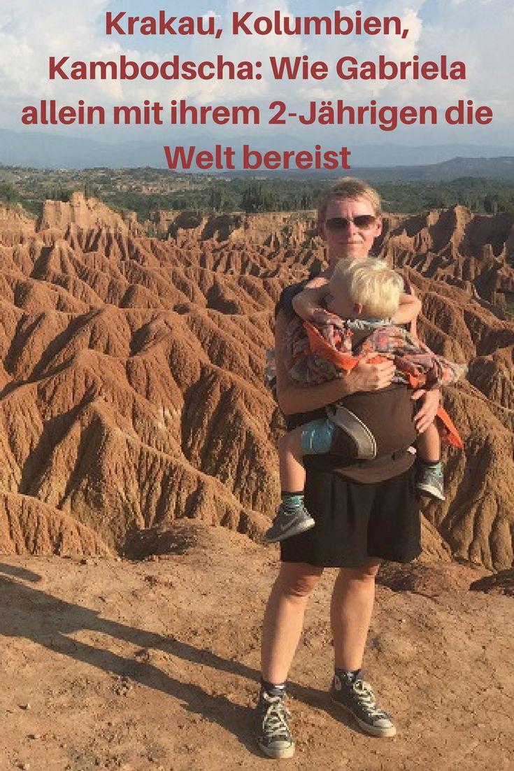 """Was sagt eigentlich Dein Mann dazu, dass Du so viel mit Eurem 2-Jährigen Sohn reist? Findest Du es nicht schade, dass Dein Kleiner später kaum mehr Erinnerungen haben wird an Eure Trips? Ich habe #Reisebloggerin Gabriela von """"Mami bloggt"""" nach Strich und Faden gelöchert. Heraus gekommen ist ein sehr persönliches Interview. Danke dafür! #Reiseblog"""