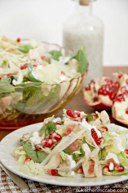 Winter Pomagranite Swiss Salad