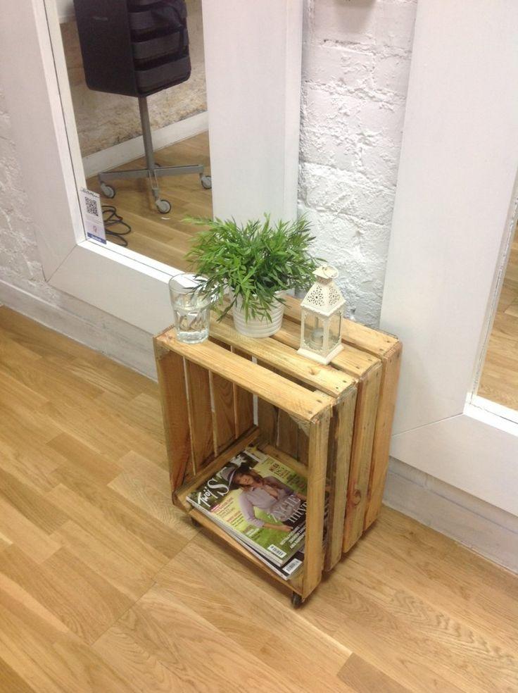 Mini stolik (proj. Fabryka Palet), do kupienia w DecoBazaar.com