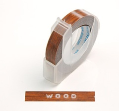 DYMO - wood tape, i really want this
