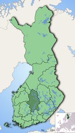 Keski Suomi Kartta Kaupungin
