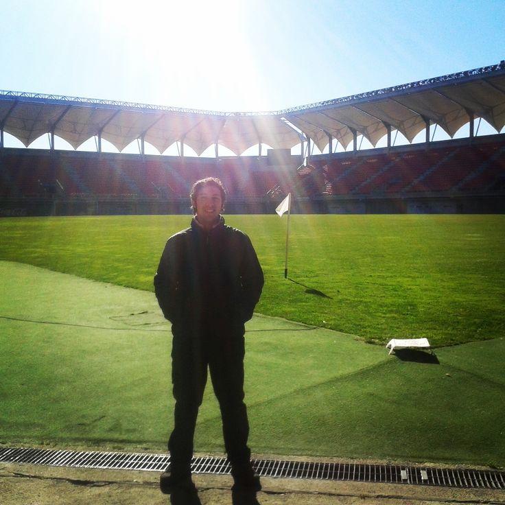 Visitando el Estadio Bicentenario Nelson Oyarzún en Chillán, Bíobio