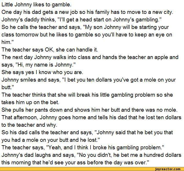 dirty johnny jokes