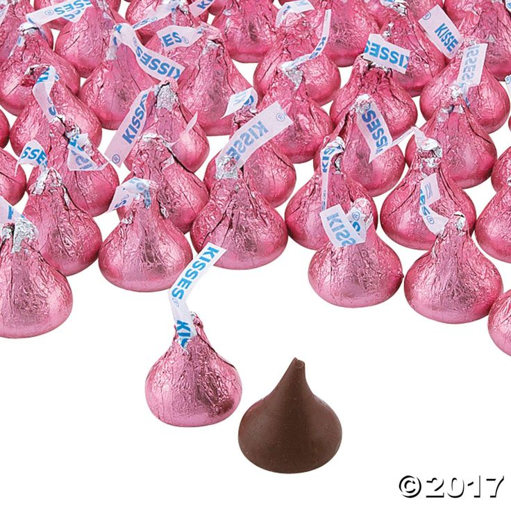 Add these Pink Hershey's® Kisses® to your candy buffet tables and goody bags for a yummy way to treat tastebuds to the best! Ideal for wedding ...