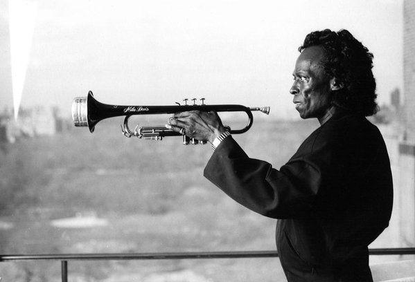 Miles Davis, NYC, 1988. Photo by Enrique Cervera