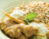 Kumara and Lamb Curry
