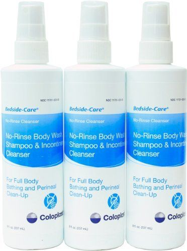 Introducing Bedside Care NoRinse Body Wash Shampoo  Incontinence Cleanser 8 Oz Spray by Coloplast. Great Product and follow us to get more updates!