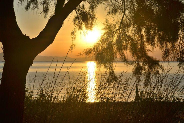 Sunrise at Psaropouli beach, Vassilika, Greece