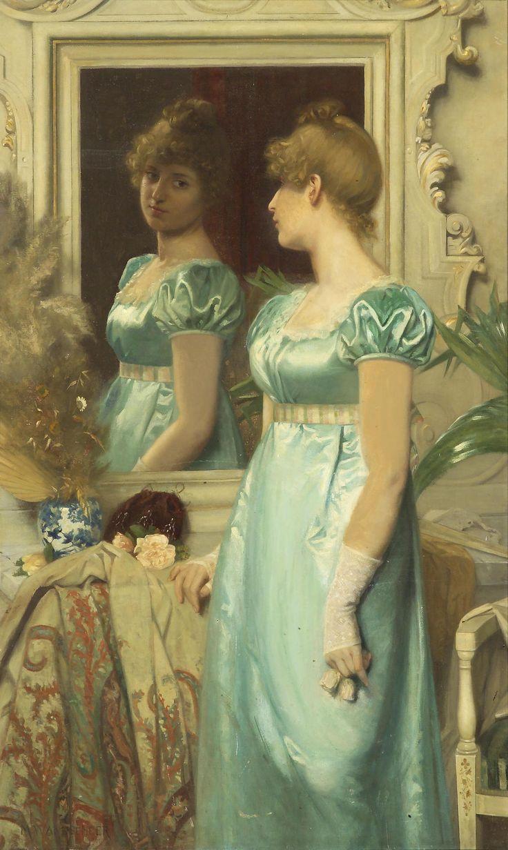 monsieurleprince:  Maria Wilhelmina Wandscheer (1856-1936) - Before the ball, 1886