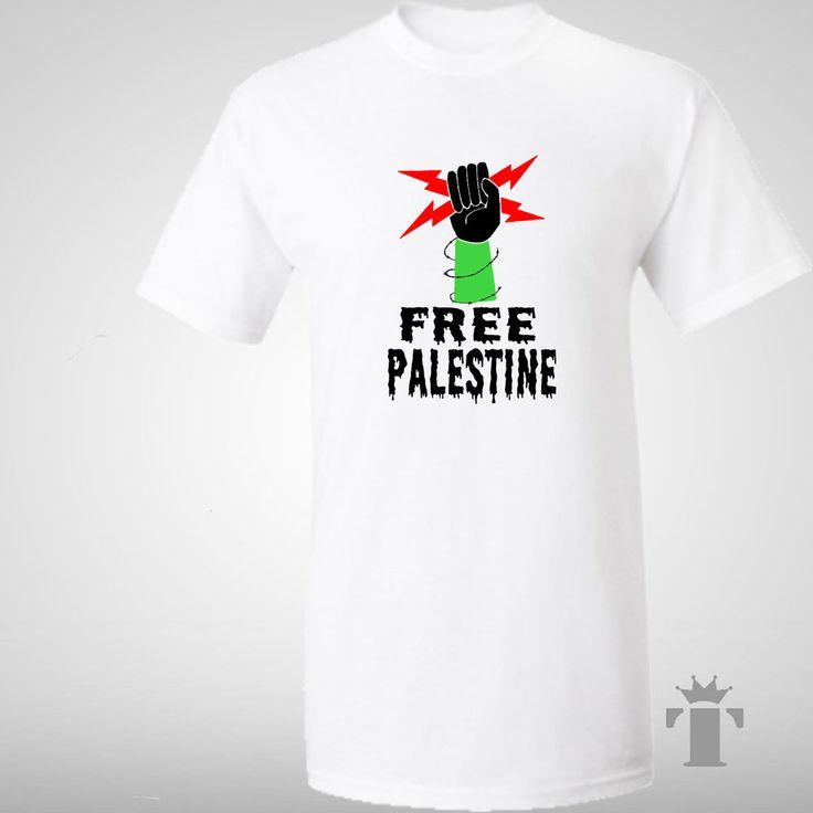 Kids T Shirt 'Free Palestine' Solidarity Fist Support #FreePalestine 5-13 years