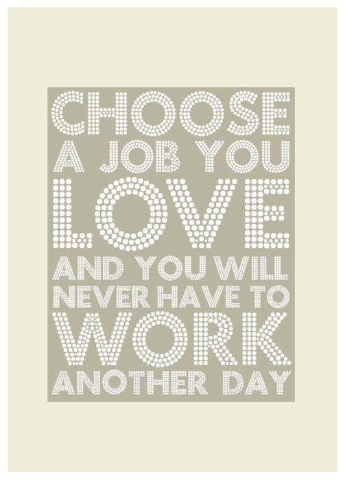 Choose a job
