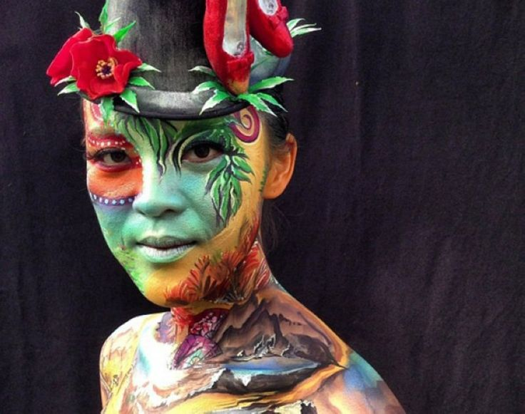 The Australian Body Art Carnivale is the eye-popping event of the year on the Sunshine Coast.