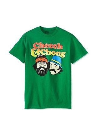 46% OFF Cheech and Chong Men's Crew Neck Tee (Kelly Green)