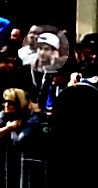 Boston Marathon Bombing Suspect Photos Released; FBI Searching For Suspect 1 And Suspect 2