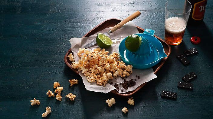 Sichuan pepper and lime popcorn recipe : SBS Food