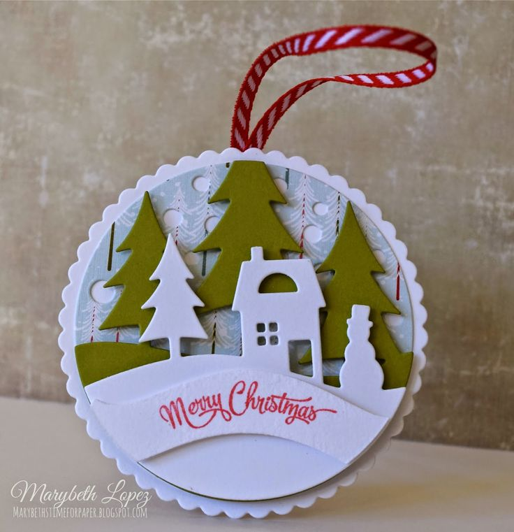 Marybeth's time for paper: Loving the PTI Tinsel & Tag Kit!