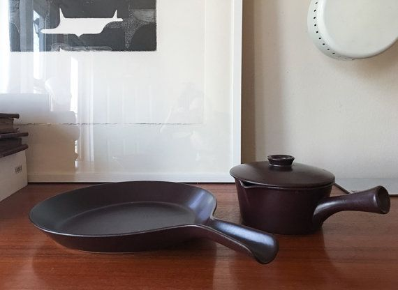 RARE Gustavsberg Terma Large Skillet Pan and by CaribeCasualShop