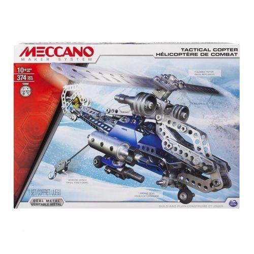 Hélicoptère de combat 6024816 Meccano pas cher prix Jeux de construction Cultura 55.99 €