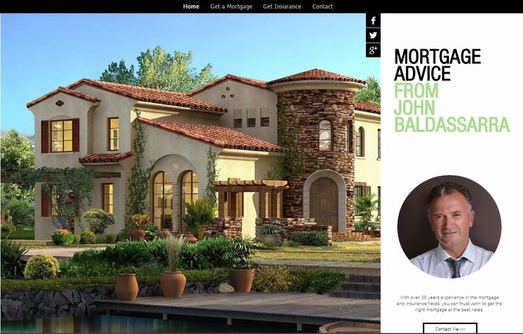 Concept page for Mortgage Brokerage
