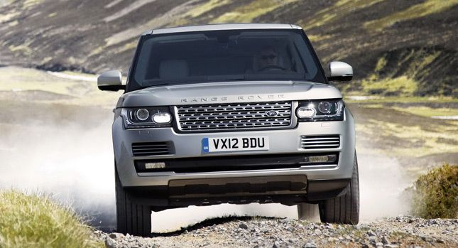 Land Rover Officially Reveals 2013 Range Rover SUV, Sheds up to 926lbs or 420kg [w/Video] - Carscoop