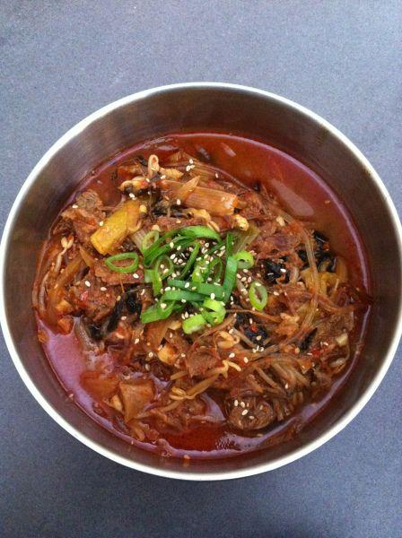 Yuk Gae Jang 육개장 – pittige rundvlees soep | Koreaans koken