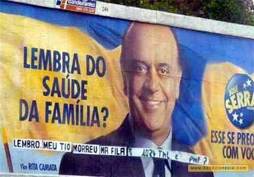 Saúde no Brasil!