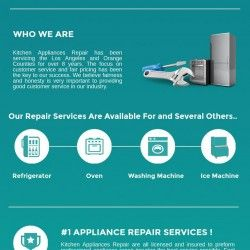 We Offer Best Services For Commercial And Residential Appliance From Over 8 Years In Glendale Appliance Repairkitchen