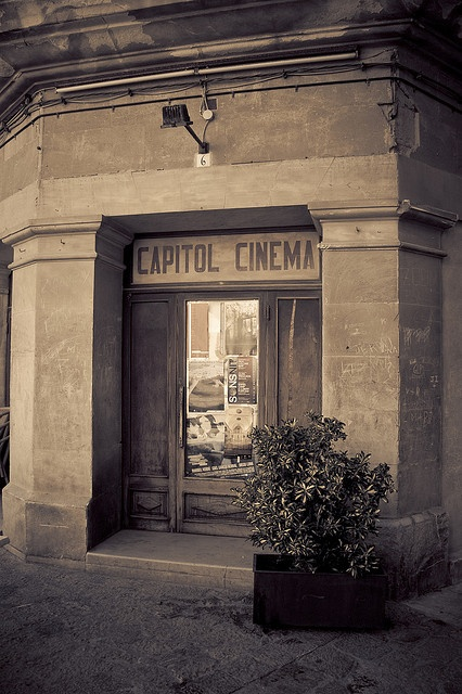 Old Cinema in Pollenca, Balearic Islands
