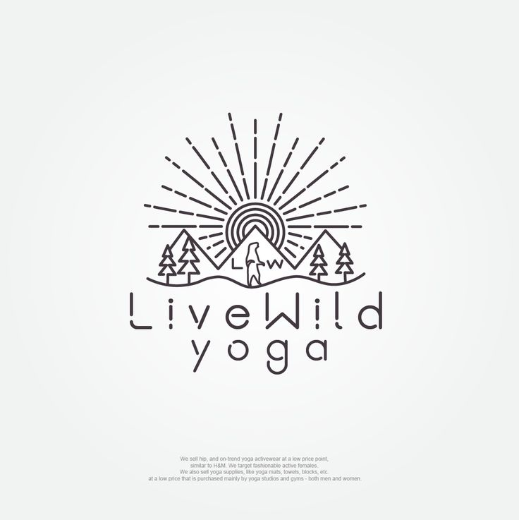 Live Wild Yoga logo                                                       …