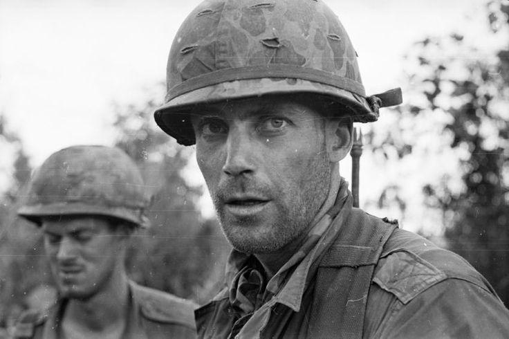 Portrait eines Soldaten: Amerikanische Soldaten, fotografiert am 27. Juni...
