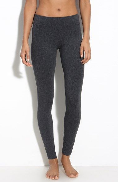 Hue 'Ultra' Wide Waistband Leggings available at #Nordstrom