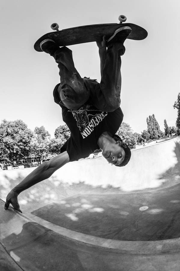 Nicolas Bouvy from Finland joins us a member of the United Skateboard Photography Project - check out his photography work here.