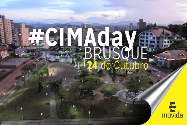 #cimaday #brusque #movidabrasil #cidadelinda #iejem
