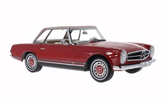 diecastmodelswholesale - 1963 Mercedes 280 SL Pagode Red Limited to 500pc 1/12 by Premium Classixx , $299.99 (http://www.diecastmodelswholesale.com/1963-mercedes-280-sl-pagode-red-limited-to-500pc-1-12-by-premium-classixx/)