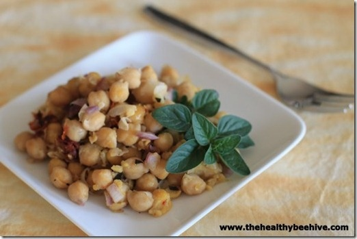 Crockpot Monday: Warm Chickpea Salad | MEATLESS MONDAY'S | Pinterest ...