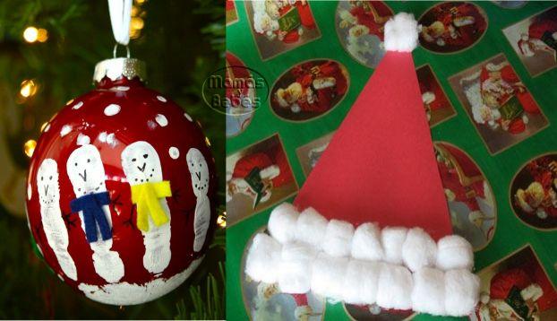 Navidad manualidades infantiles faciles xmas and crafts - Manualidades faciles navidad ...
