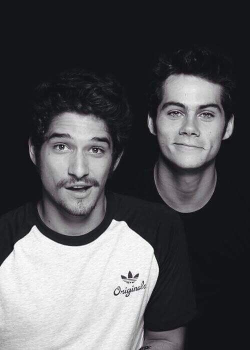 Tyler Posey and Dylan O'Brien❤️❤️❤️