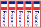 France flag bookmarks - colour